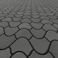 Pavement texture round Tiles