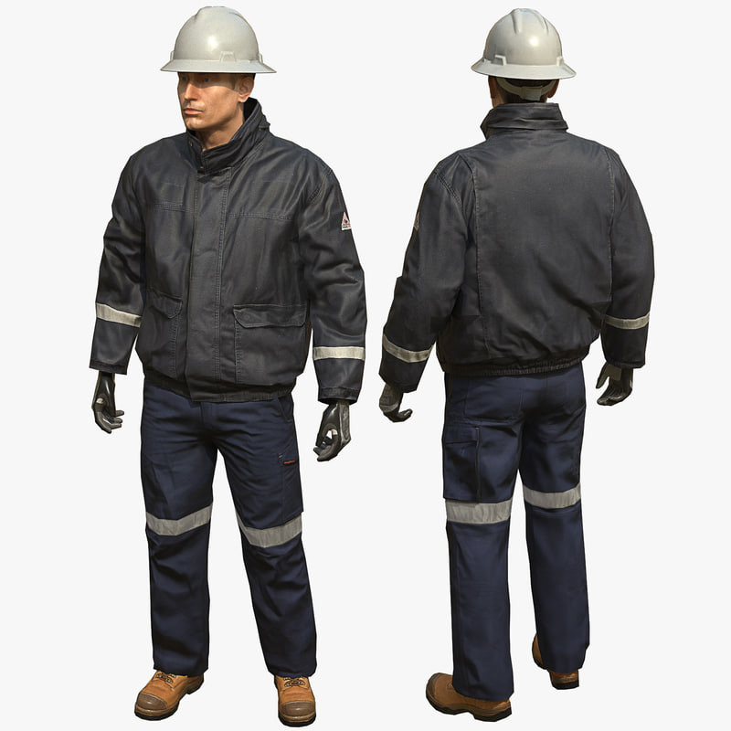 jacket - safety max