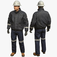 Workman Mining Safety Glen - Jacket