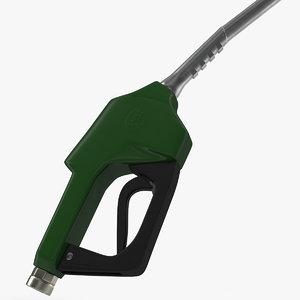 3ds gas pump green