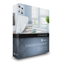 CGAxis Models Volume 47 Blinds