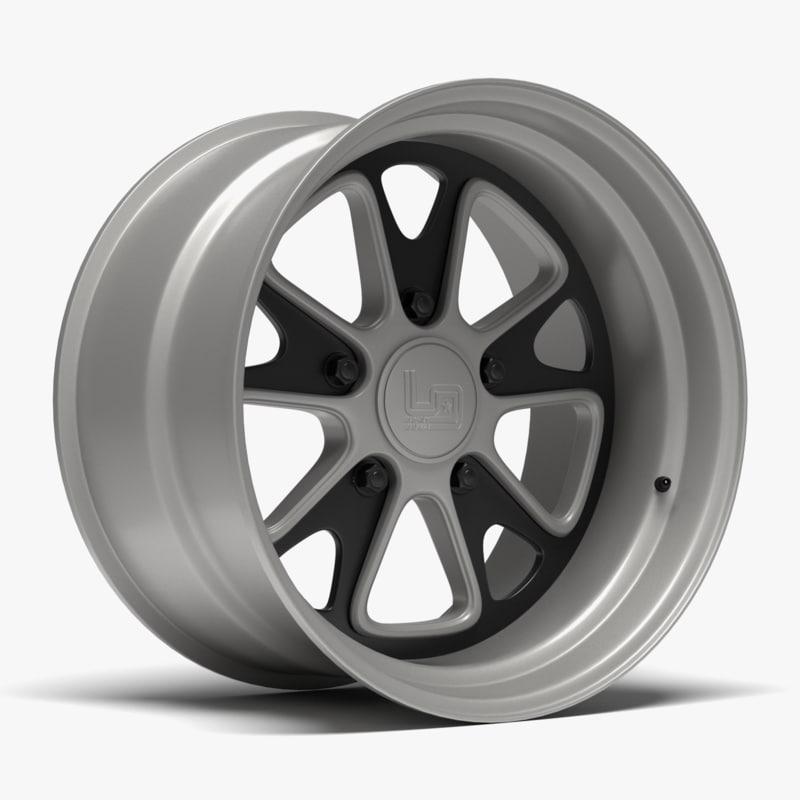 1552 urban outlaw wheel 3d x