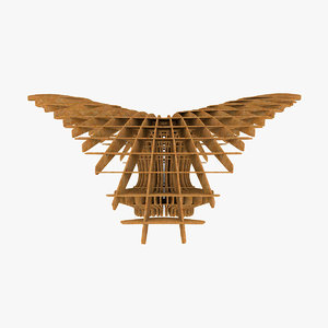 3d rhino parks parametric wood model