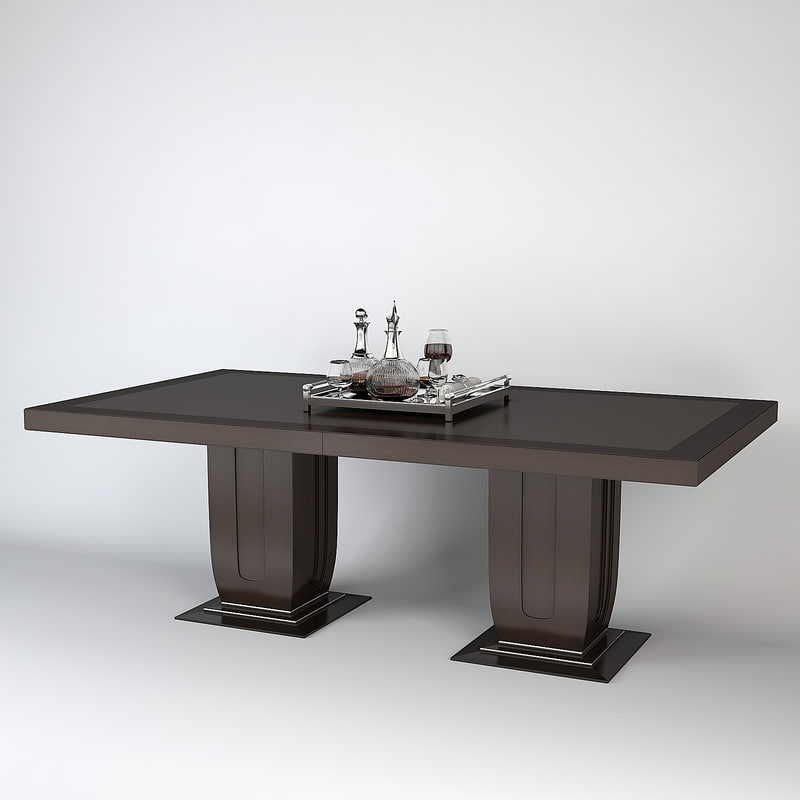 max baker dining table 4093