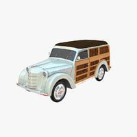 Moskvich 400-422. Woody
