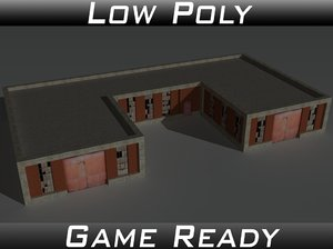3ds factory building 3