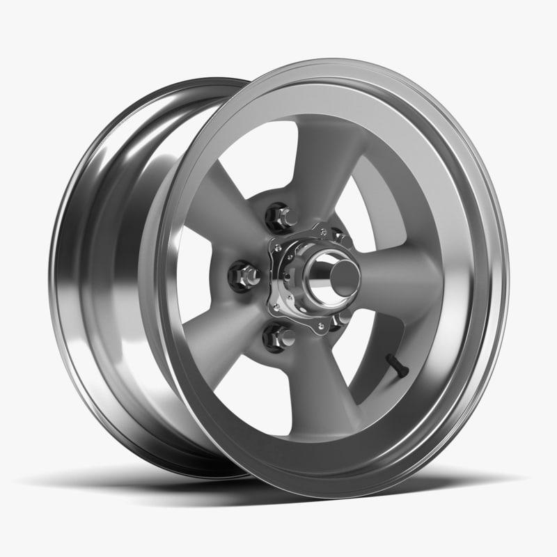 obj chrome wheel