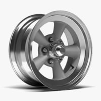 obj chrome wheel