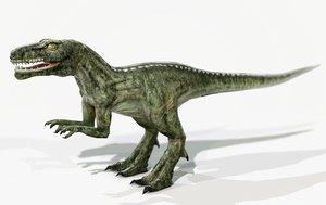 random dinosaur 3d max