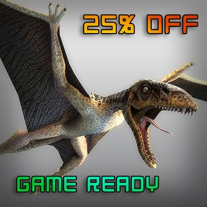 3d dimorphodon games model
