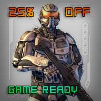 Game Ready Sci Fi Soldier