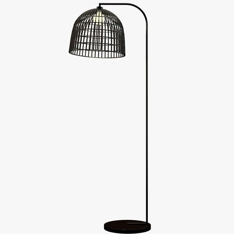 3d model of floor lamp