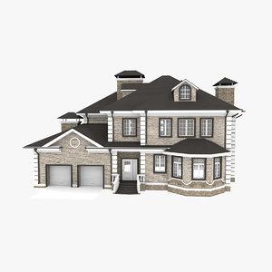 3d house american