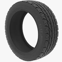 3d model tire