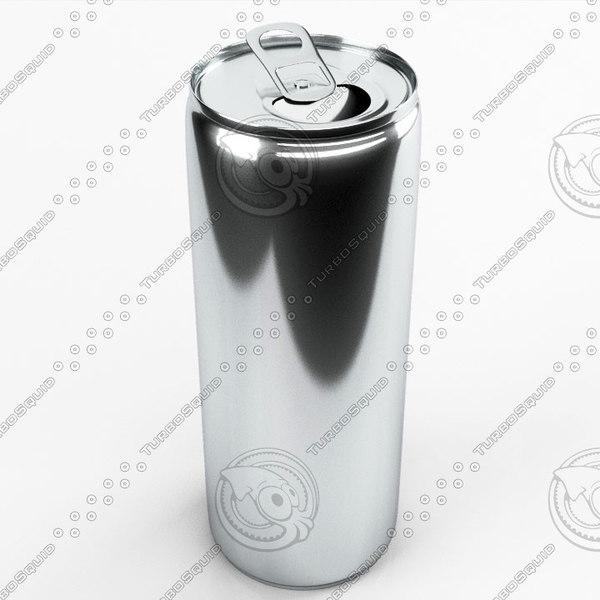 energy drink 3d model