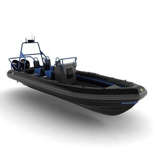 rigid inflatable cz7 3d model