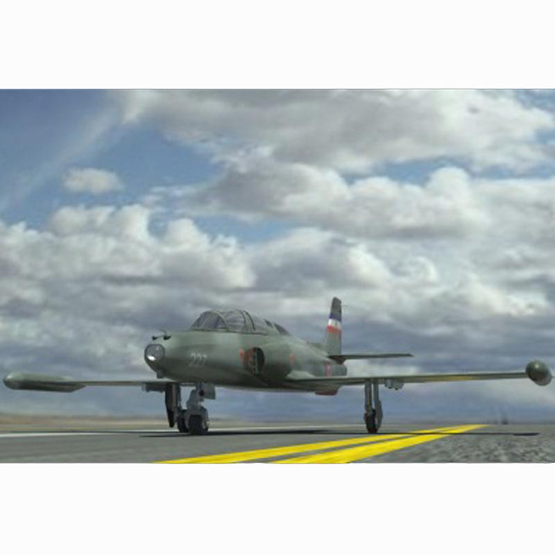 3d model g-2 galeb