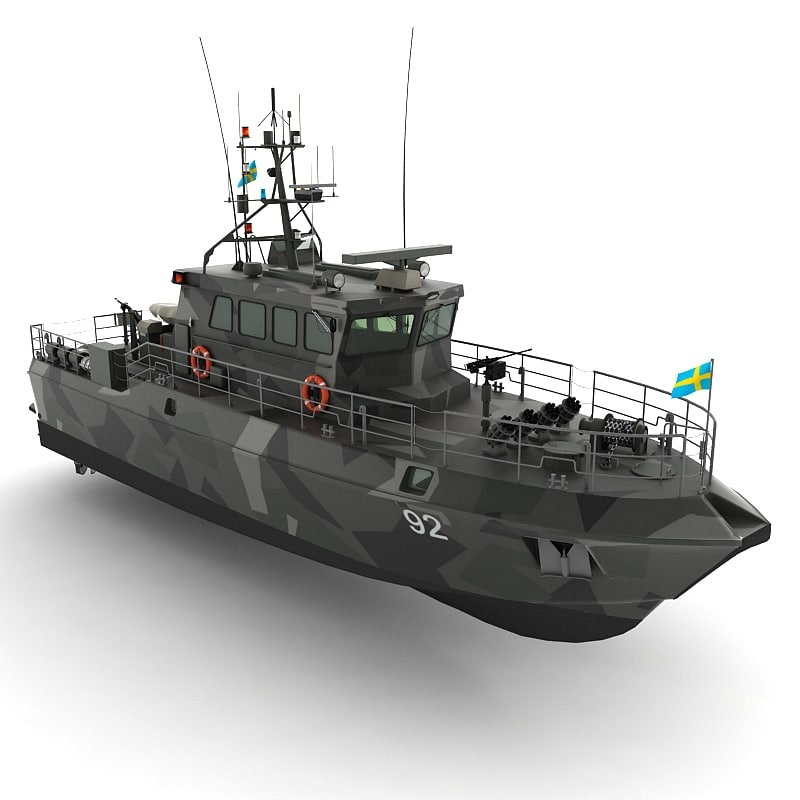 3d hms patrol boat