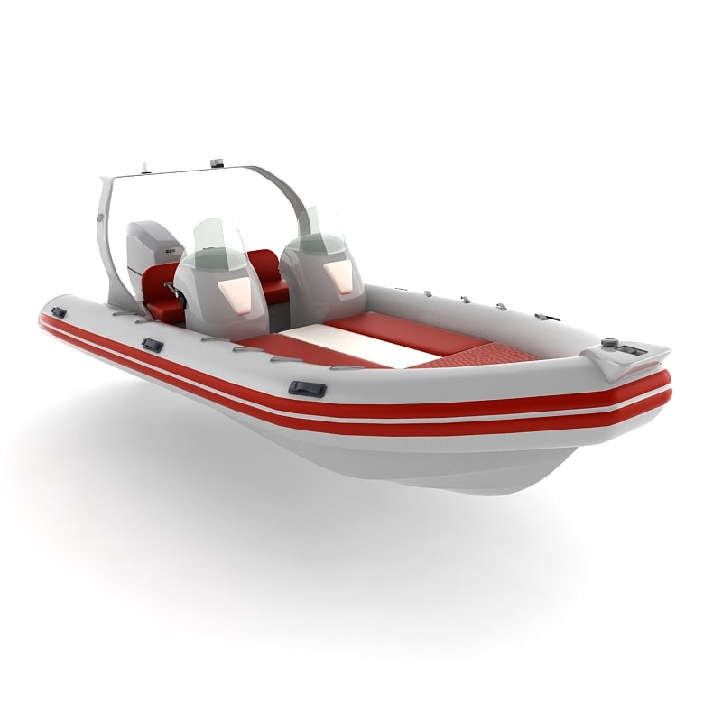 3d rigid inflatable boat