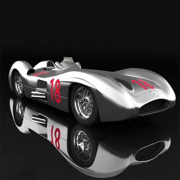 3ds max mercedes benz w196