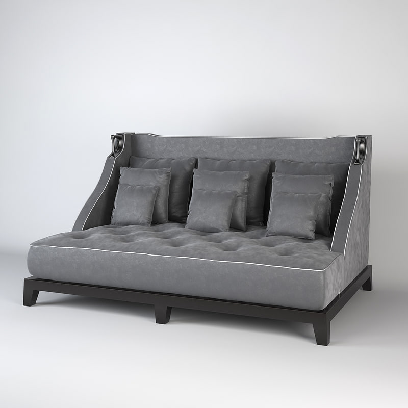 sofa albert 3d max