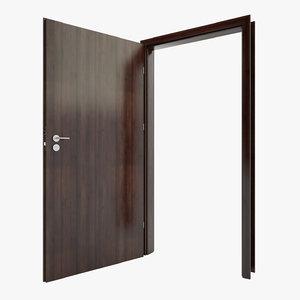 modern doors 3d model