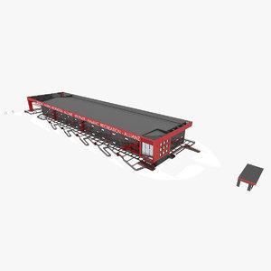 3d department warehouse model