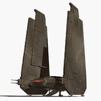 Kylo Ren Ship
