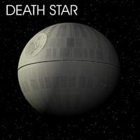 death star 3d model