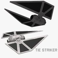 tie striker obj