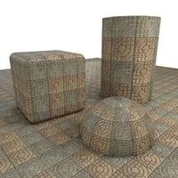 Ornate Paving Tile