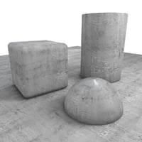 Cracked Concrete