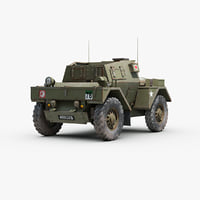 Daimler Dingo Armored Scout Car