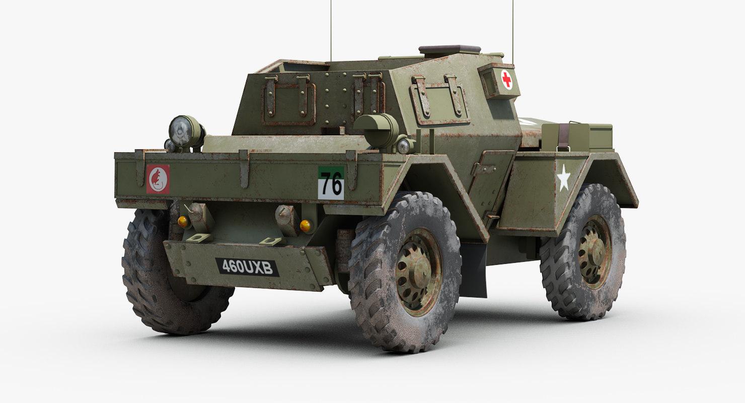 ww2 daimler dingo armored 3ds