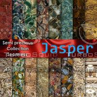 Jasper Semi precious gemstones