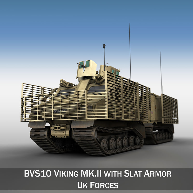 viking bvs10 bae bvs 3d model