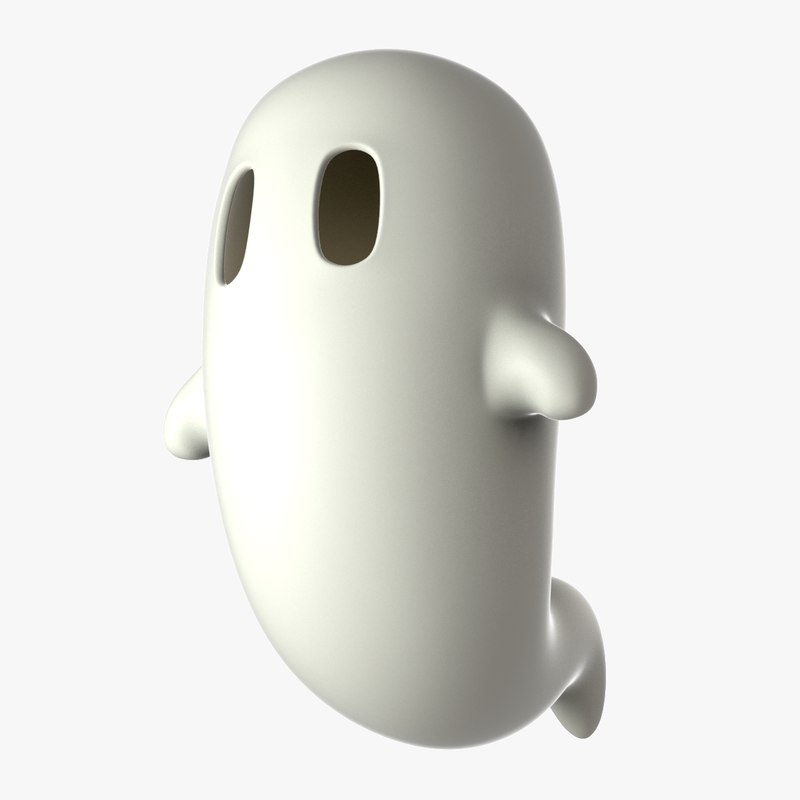 ghost 3d max