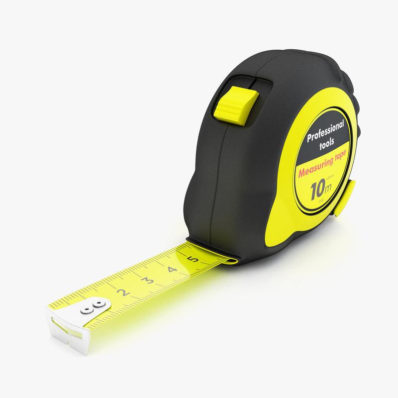 measuring tape 3d 3ds