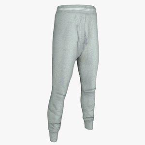 narrow pants 3d max