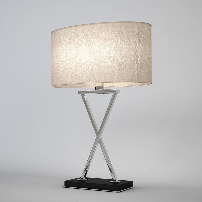 chelsom crossover cv16 table lamp 3d model