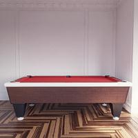 pool red 3d model