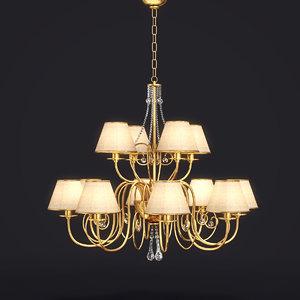 lamp art 1110 baga 3d model