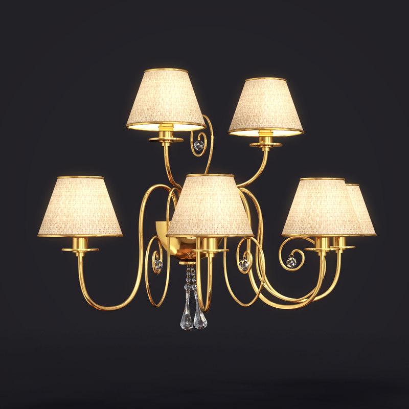 lamp art 1112 baga 3d max