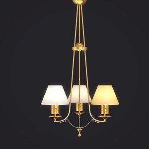 lamp art 719 baga 3d max