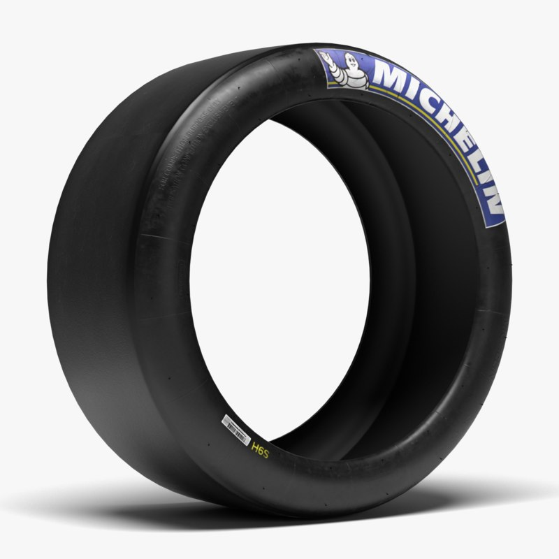 3d ma michelin race slick tire