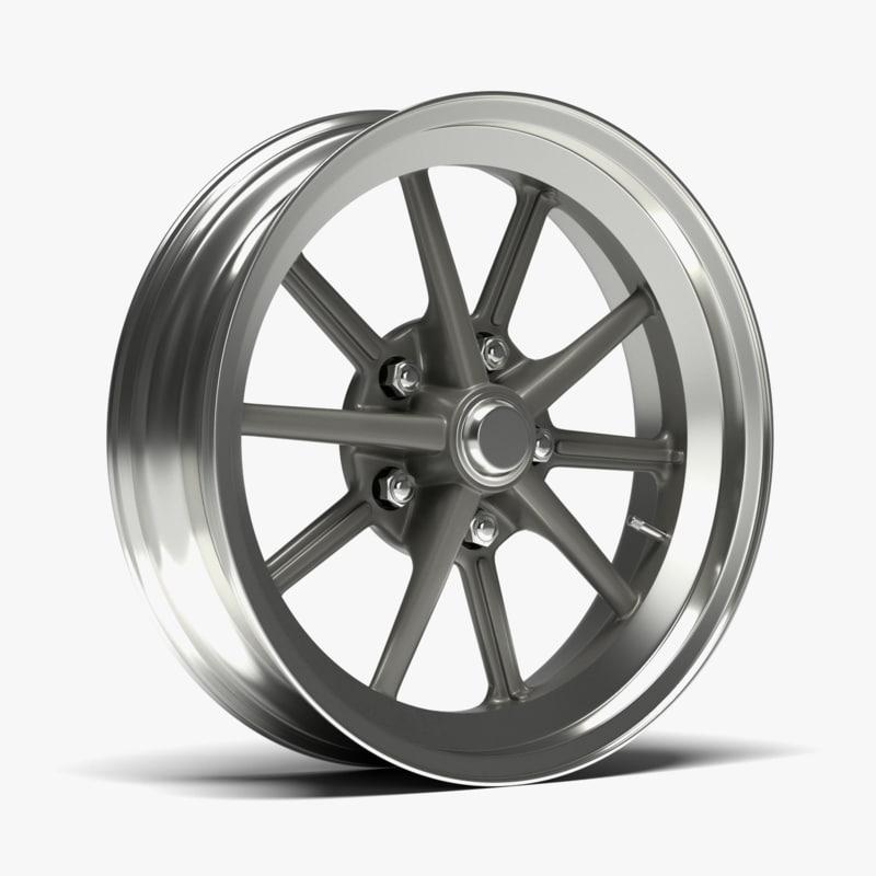 free obj mode et gasser wheel car