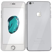3d model iphone 7 silver