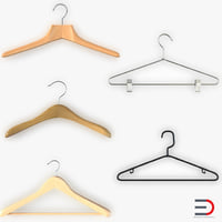 Clothes Hangers 3D Models Collection 2