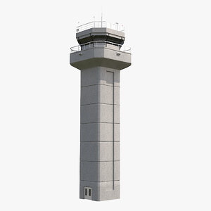 3d air traffic tower