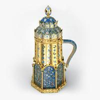 Imperial Faberge Enamel Tankard